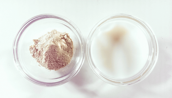 bột cám gạo sữa tươi
