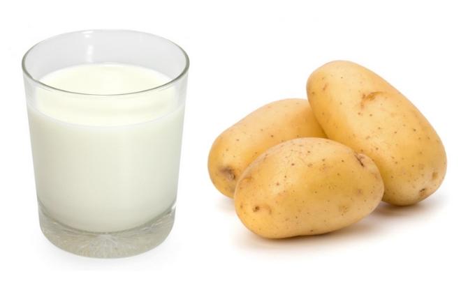 Các lưu ý khi sử dụng mặt nạ khoai tây