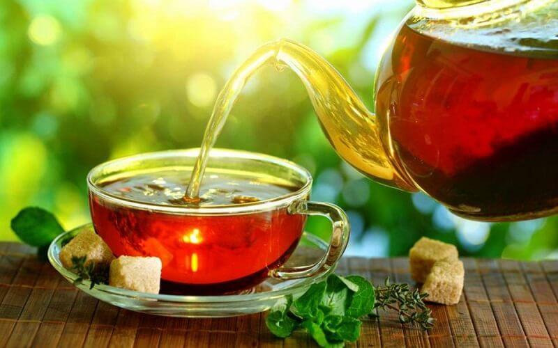 Các lưu ý khi sử dụng trà đường