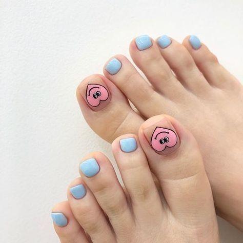 20 kiểu móng chân xinh xắn, nhí nhảnh 10