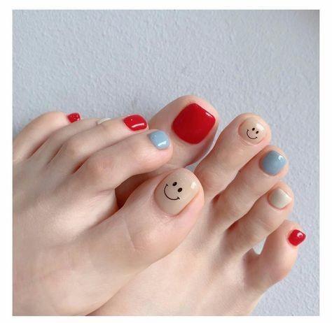 20 kiểu móng chân xinh xắn, nhí nhảnh 2