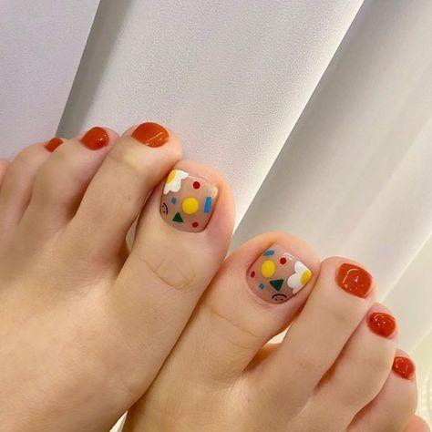 20 kiểu móng chân xinh xắn, nhí nhảnh 4