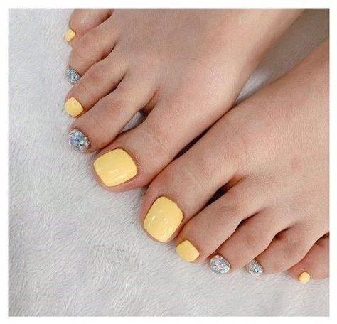 20 kiểu móng chân xinh xắn, nhí nhảnh 6