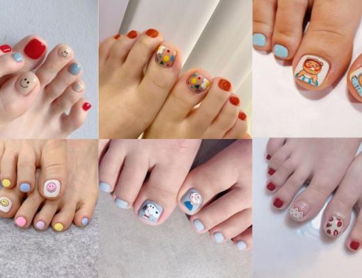 20+ kiểu nail móng chân xinh xắn, nhí nhảnh