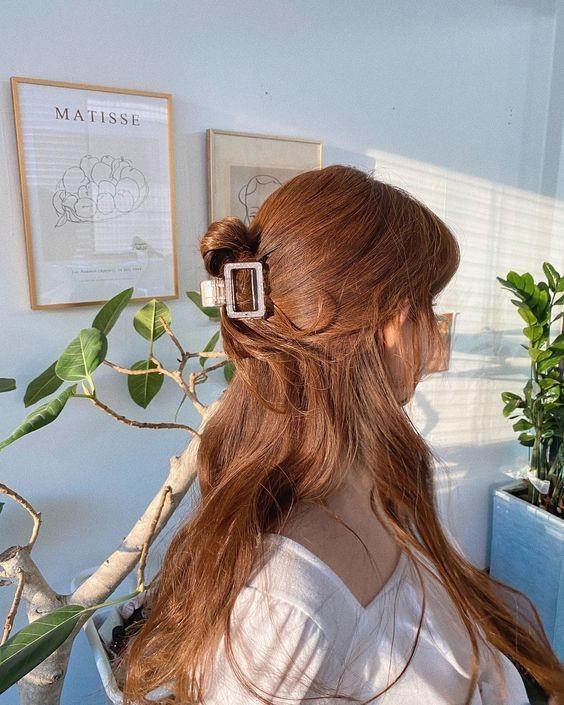 7 kiểu tóc đơn giản dịu dàng phong cách Hàn Quốc 10