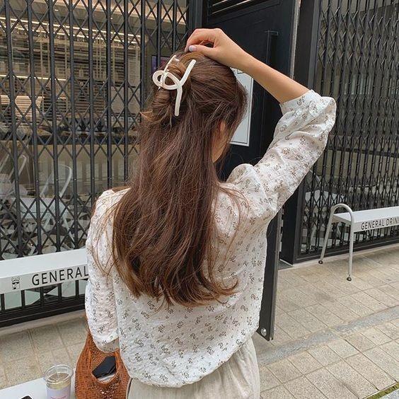 7 kiểu tóc đơn giản dịu dàng phong cách Hàn Quốc 11