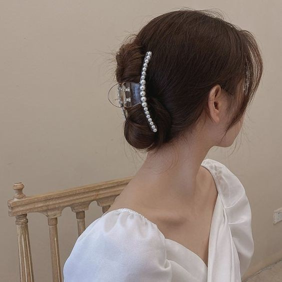 7 kiểu tóc đơn giản dịu dàng phong cách Hàn Quốc 13