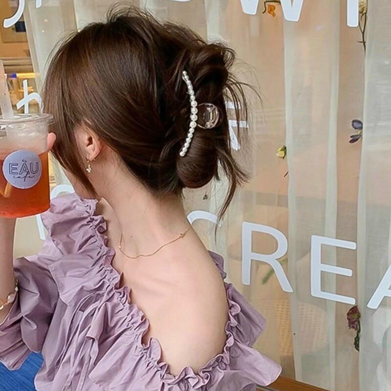 7 kiểu tóc đơn giản dịu dàng phong cách Hàn Quốc 2