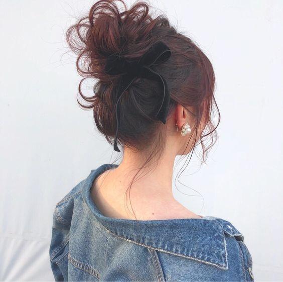 7 kiểu tóc đơn giản dịu dàng phong cách Hàn Quốc 6