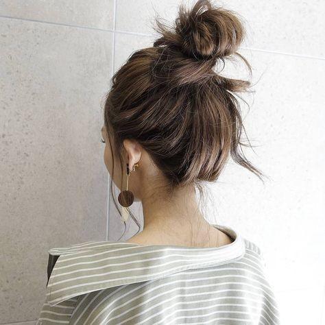 7 kiểu tóc đơn giản dịu dàng phong cách Hàn Quốc 7