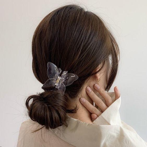 7 kiểu tóc đơn giản dịu dàng phong cách Hàn Quốc 8
