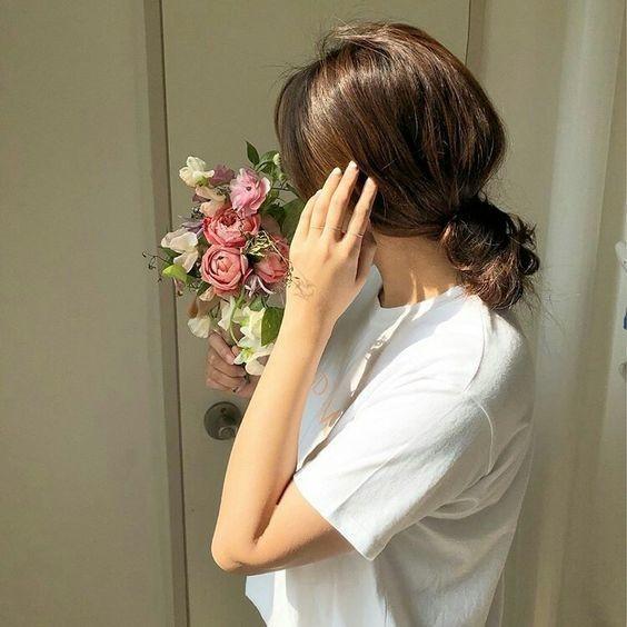 7 kiểu tóc đơn giản dịu dàng phong cách Hàn Quốc 9