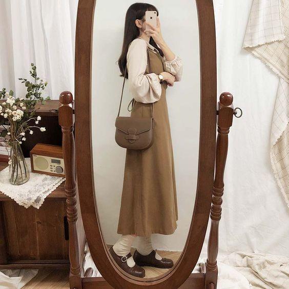 Bật mí 18+ kiểu váy xinh phong cách vintage 11