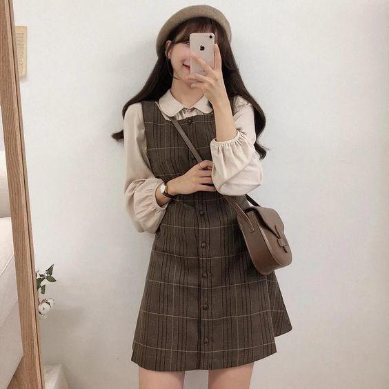Bật mí 18+ kiểu váy xinh phong cách vintage 8