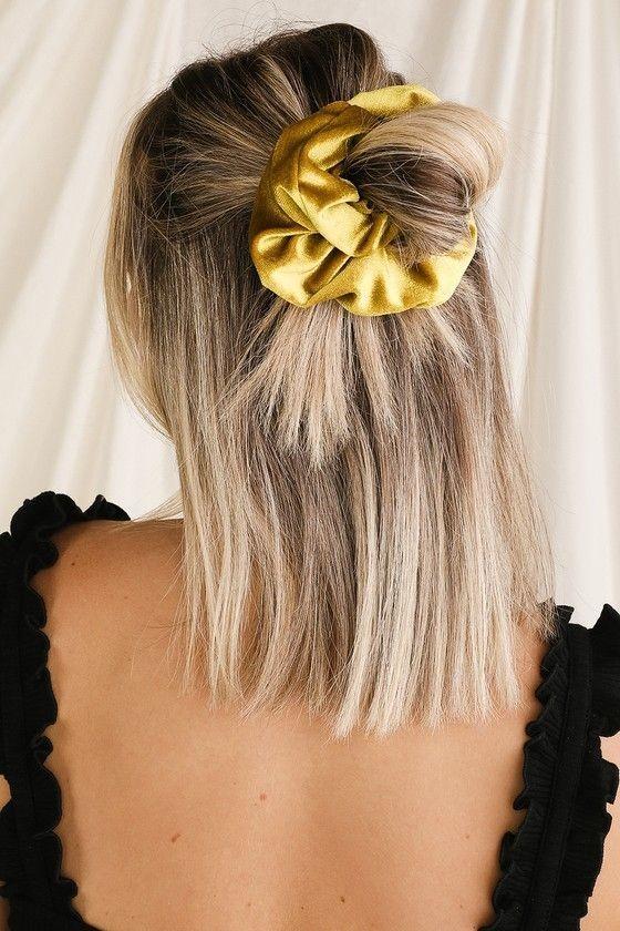 Đốn tim với 24+ kiểu tóc với scrunchies 22