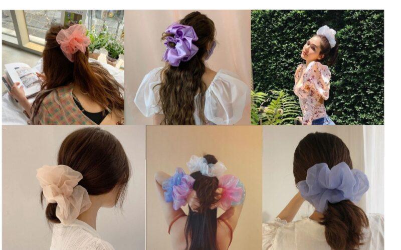 Đốn tim với 24+ kiểu tóc với scrunchies_24