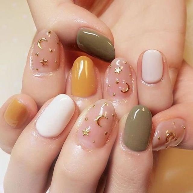 Kiểu nail sơn gel 1