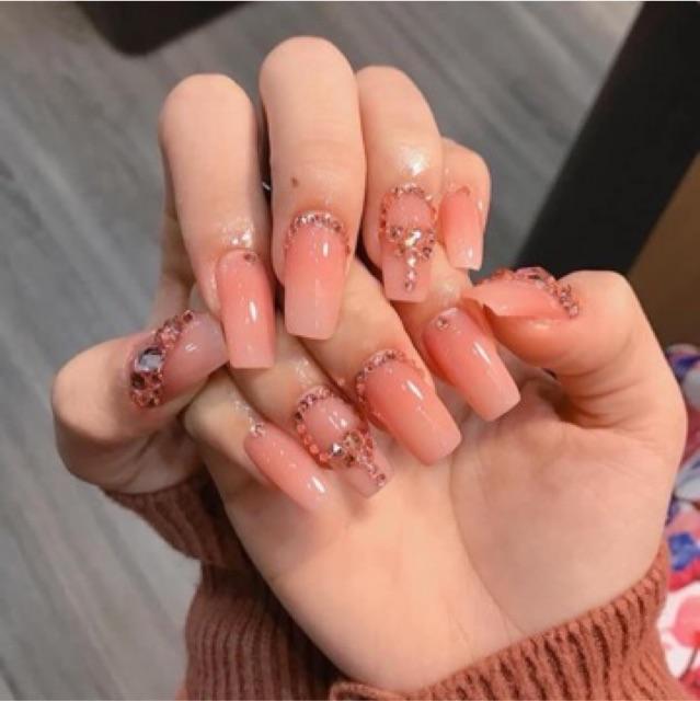 Kiểu nail sơn gel 12