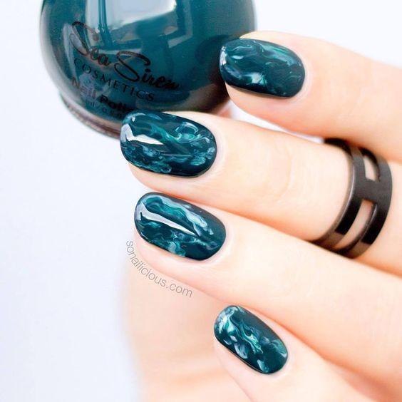 Kiểu nail sơn gel 5