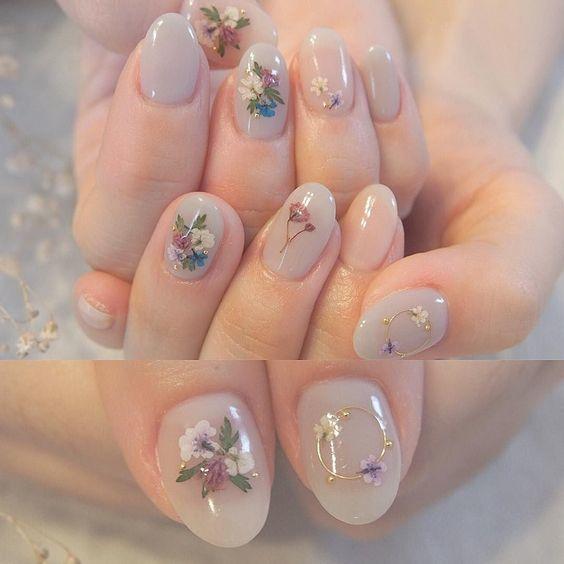 Kiểu nail sơn gel 6