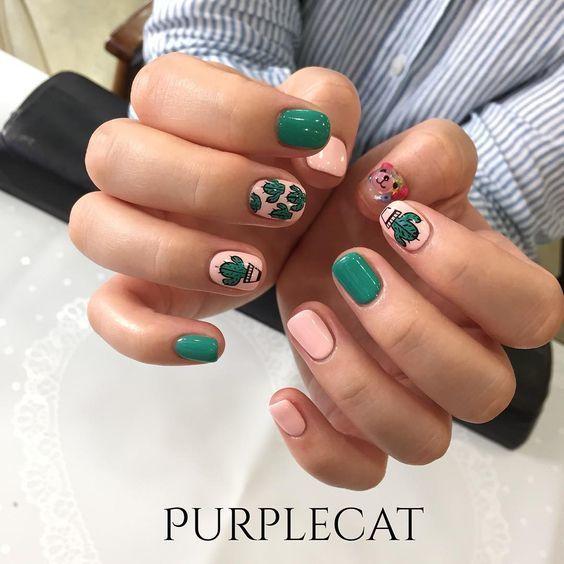 Kiểu nail sơn gel 7
