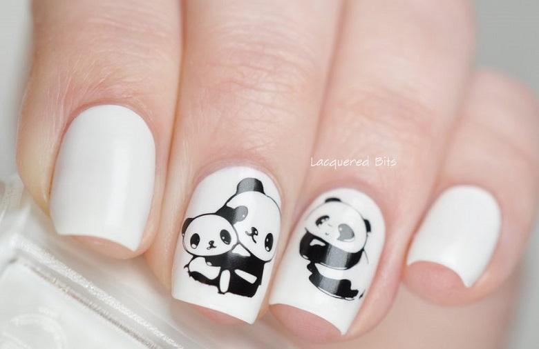 Nail phong cách Hàn Quốc 12