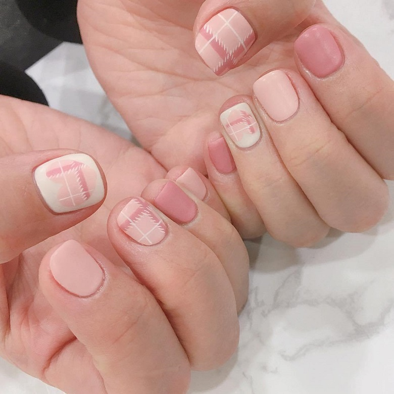 Nail phong cách Hàn Quốc 13