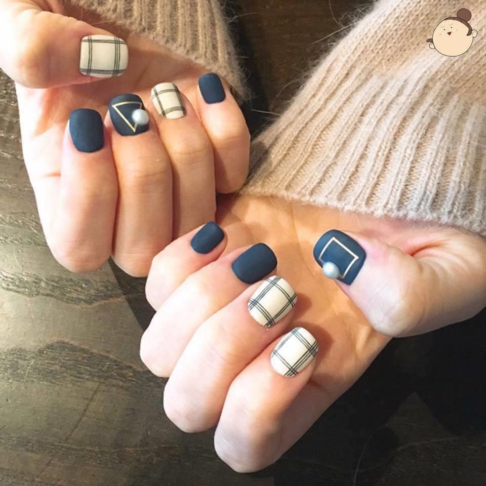 Nail phong cách Hàn Quốc 16
