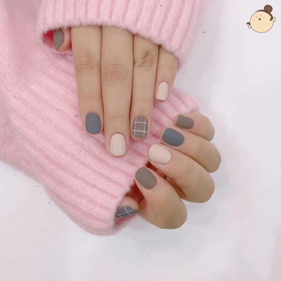 Nail phong cách Hàn Quốc 18