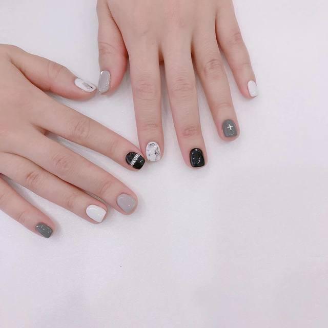 Nail phong cách Hàn Quốc 2