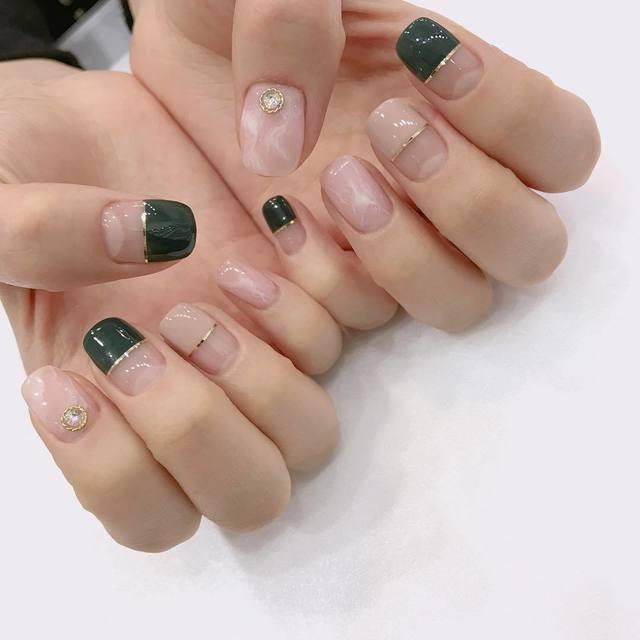 Nail phong cách Hàn Quốc 3