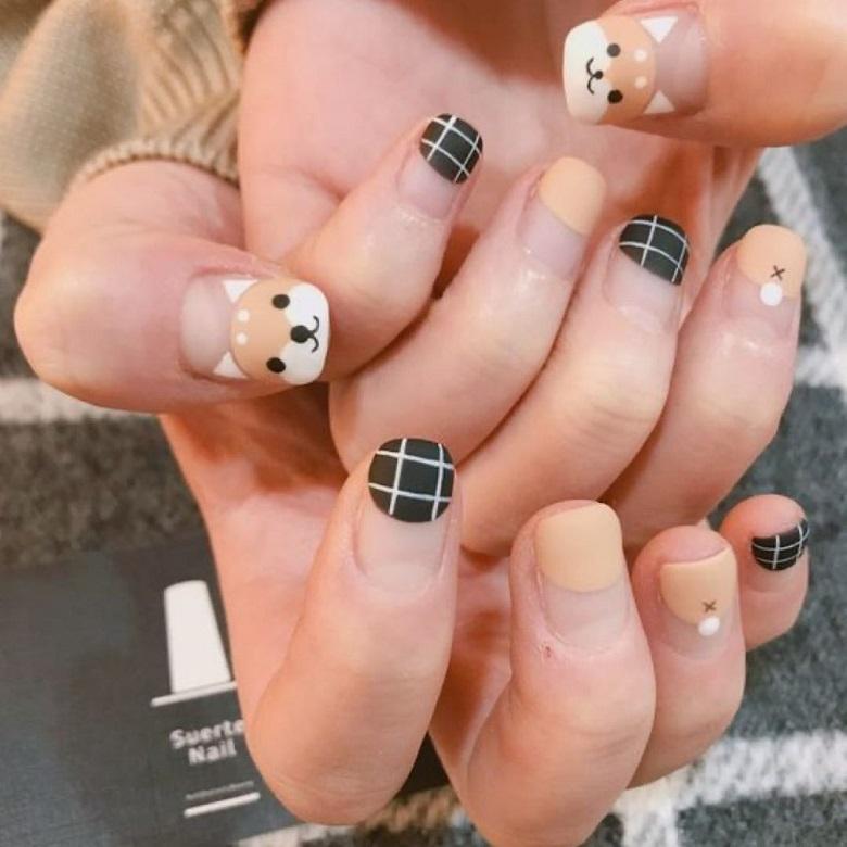 Nail phong cách Hàn Quốc 8