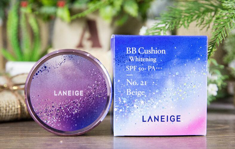 Review Laneige BB Cushion Milkyway Fantasy - cho làn da đẹp huyền ảo như dải ngân hà