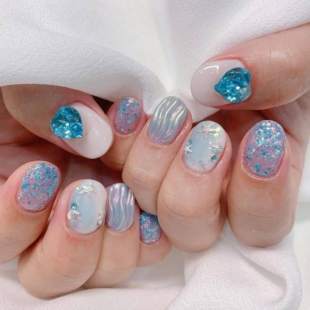 Tan chảy với 22+ kiểu nail sóng cực xinh