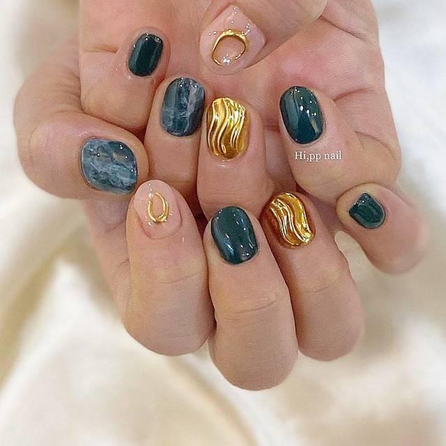 Tan chảy với 22+ kiểu nail sóng cực xinh 6