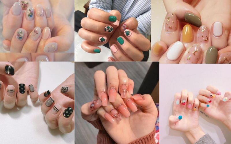 Kiểu nail sơn gel