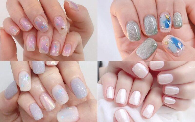 add nail phong cách Hàn Quốc