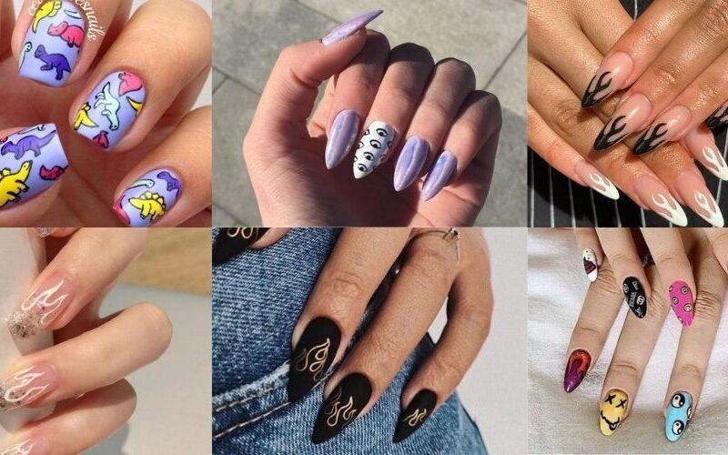 add nail phong cách sáng tạo cho nữ