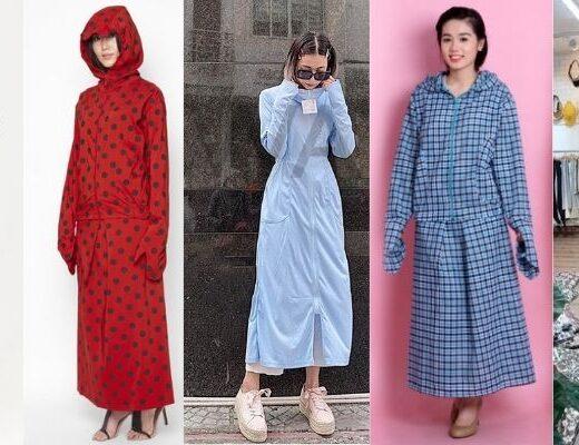 4 kiểu áo chống nắng dài chị em thích mê