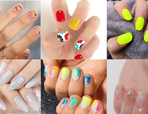 7 mẫu nail mùa hè sặc sỡ sắc màu