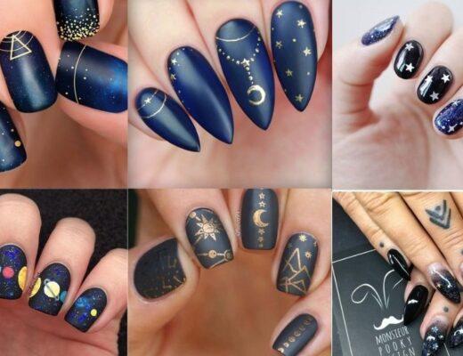 Kiểu nail galaxy