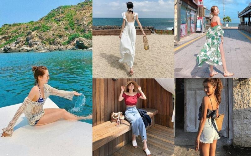 Kiểu thời trang đi biển1