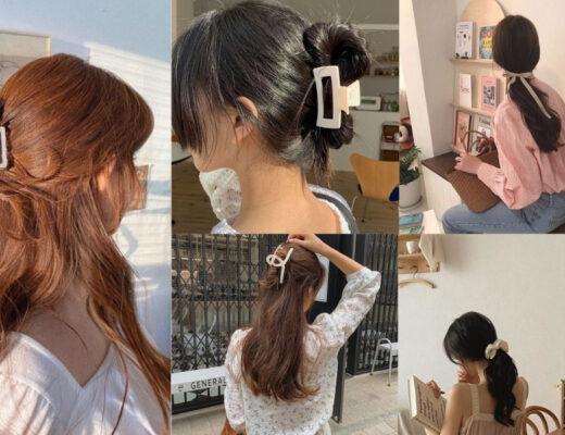 Kiểu tóc đơn giản