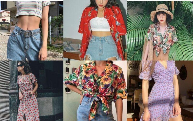Kiểu trang phục phổ biến cho mùa hè