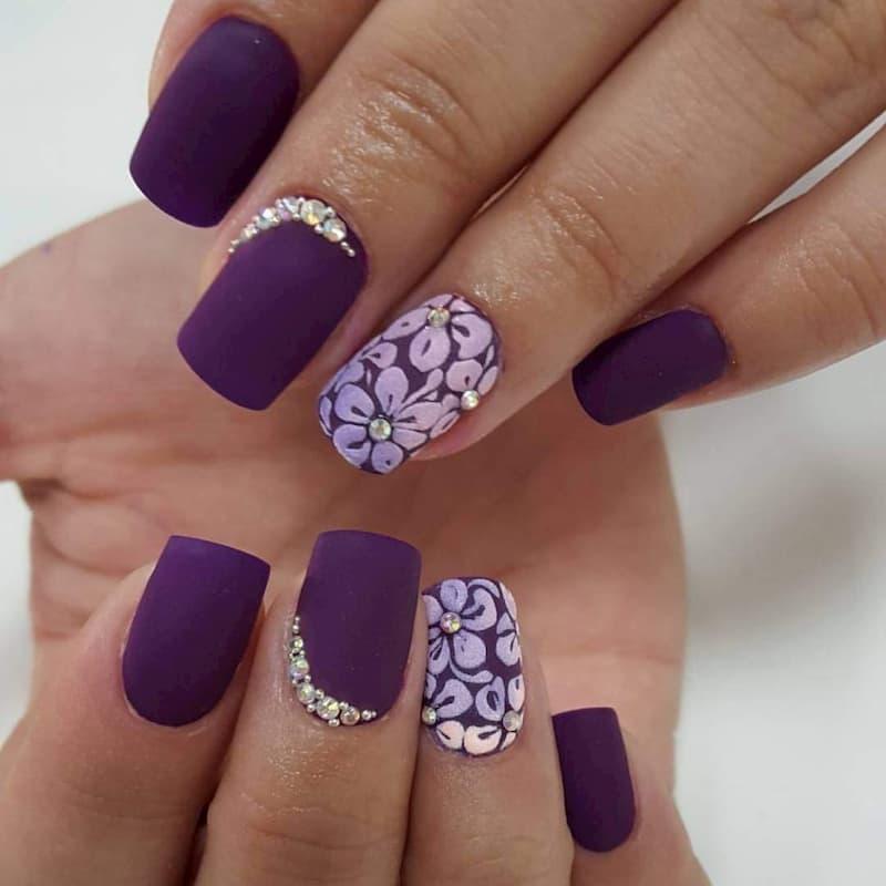 Mẫu nail phong cách nhẹ nhàng 16