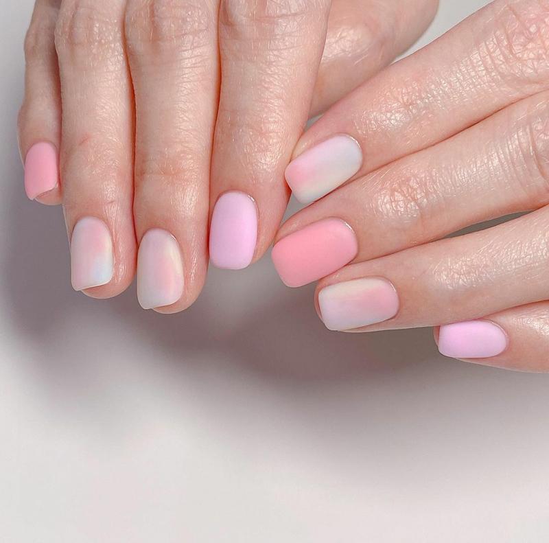 Mẫu nail phong cách nhẹ nhàng 20