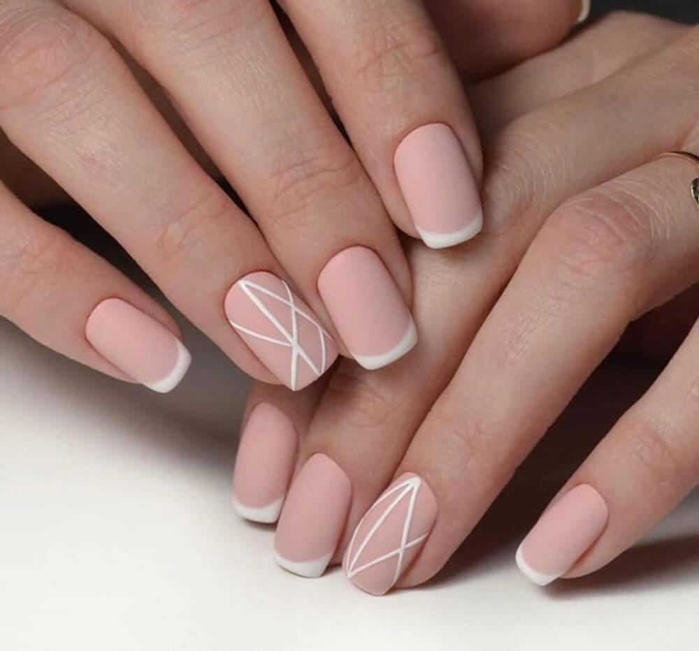 Mẫu nail phong cách nhẹ nhàng 5