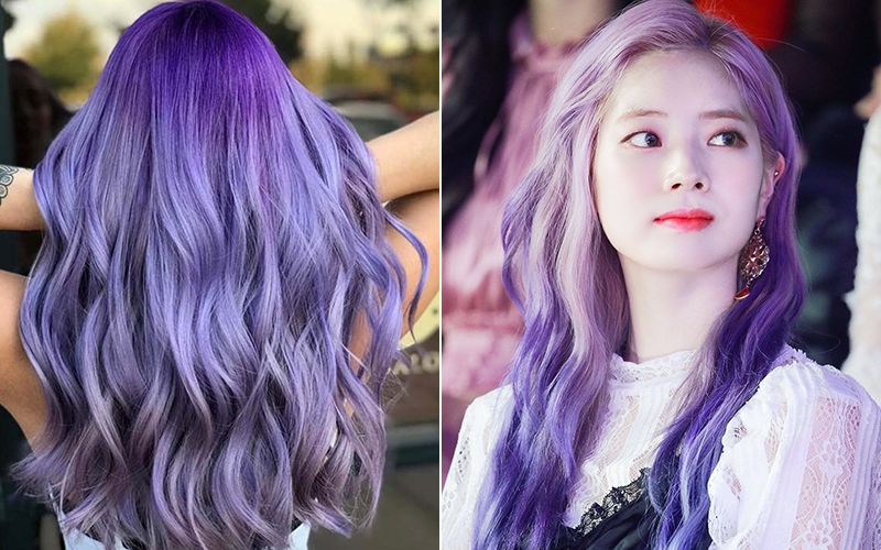 Màu tóc giúp nàng thêm nổi bật
