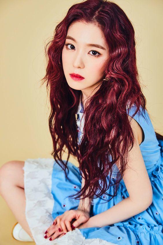 màu tóc thời thượng red velvet_5
