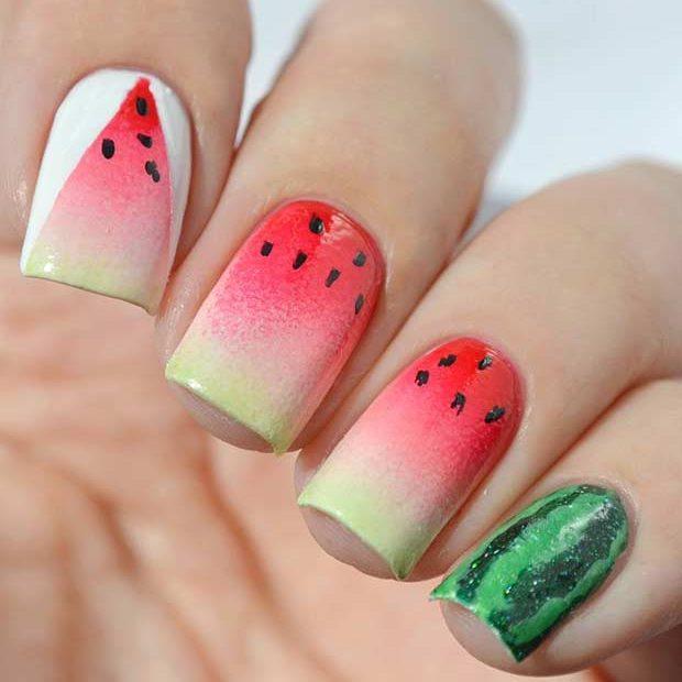 nail họa tiết trái cây_48